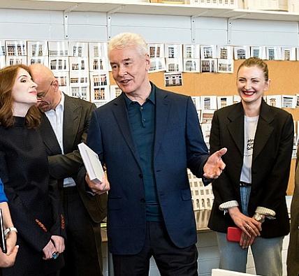 Сергей Собянин посетил Московскую школу кино